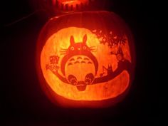totoro Pumpkin Stencils | Duck Dynasty Pumpkin Carving Patterns