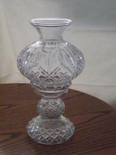 Cut Glass, Fairy Lamp