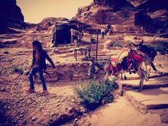 Jordan - Beduin in Petra