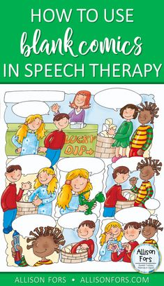 Using Blank Comics in Speech Therapy