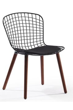 Chair Crazy, R1,470 black frame with wooden leg