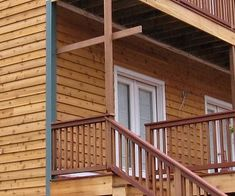 Western Red Cedar This Type Of Siding Is Called Skirl Or