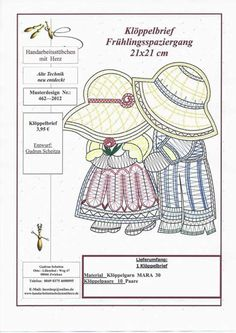 Niños Bobbin Lace Patterns, Crochet Doily Patterns, Doilies Crochet, Bobbin Lacemaking, Russian Crochet, Lace Art, Doll Clothes Patterns, Dress Patterns, Point Lace