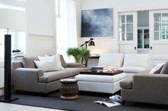 Essex soffa och pall