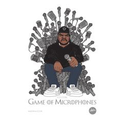 Game of Microphones - Game of Thrones meets #HipHop Legend - Ice Cube
