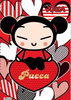 Who does not love the Pucca? by glauciah112.deviantart.com on @deviantART
