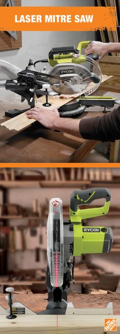 If your dad's a perfectionist, the Ryobi Sliding Mitre Saw with Laser is the perfect #FathersDay gift. To learn more about its power and precision, visit homedepot.ca: http://hdepot.ca/2qDhljE