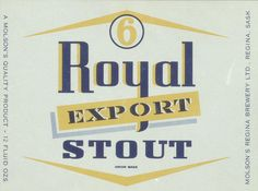 6 Royal Export Stout, via Flickr.