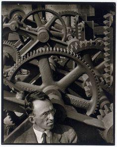 Louis Lozowick (1892-1973) in 1930 by Ralph Steiner