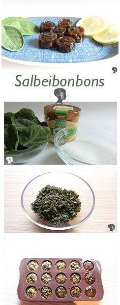 DIY: Salbeibonbons selber machen - Heute zeige ich euch, wie ihr ganz leicht und schnell Salbeibonbons selber machen könnt.
