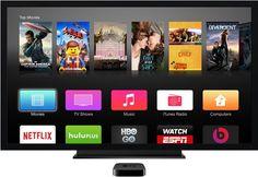 Serviço de TV streaming da Apple pode chegar em 2015