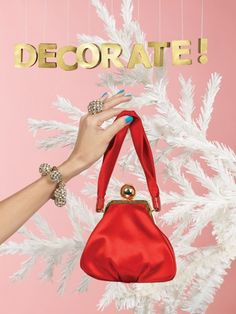 Kate Spade Holiday 2008 ad campaign.
