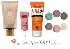 Our favorite vegan beauty products!
