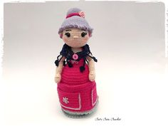 Assistante couture au crochet, Crafter Granny ou Mamie Crochet