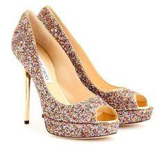 BodaMás - Brillo en tus pies - www.bodamas.com - #bodas #bodamas #zapatos #JimmyChoo #El Corte Inglés