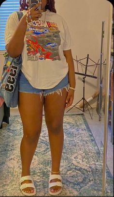 Swag Outfits For Girls, Chill Outfits, Cute Swag Outfits, Dope Outfits, Teen Fashion Outfits, Trendy Outfits, Summer Outfits, Mode Streetwear, Streetwear Fashion