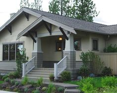 Exterior Two Tone Paint Design, Pictures, Remodel, Decor and Ideas