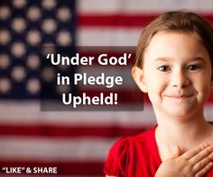 """The Supreme Judicial Court's decision upheld a lower court ruling that the phrase """"under God"""" in the Pledge serves as a clear """"acknowledgment of the Founding Fathers political philosophy, and the historical and religious traditions of the United States."""""""