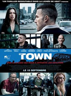 Foreign Poster of The Town starring Ben Affleck, Jon Hamm, Rebecca Hall and Jeremy Renner