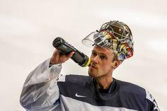 Pekka Rinne Photos Photos: Finland v Belarus - 2015 IIHF Ice Hockey World Championship Hockey Baby, Ice Hockey, Predator Games, Hockey World, Stanley Cup Playoffs, Goalkeeper, World Championship, Czech Republic, Finland