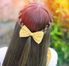 One of the best hairstyle that we can do it for school.