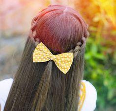 Cute hair style for school