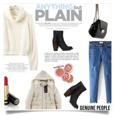 """Genuine People #7"" by ana-anaaaa ❤ liked on Polyvore featuring Akira Black Label, Gucci and Genuine_People"