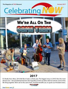 See the full issue of January's CelebratingNOW E-zine for free at SpiritHumor.com