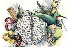 """""""O verdadeiro sinal de inteligência não é o conhecimento, mas a imaginação"""". – Albert Einstein –"""