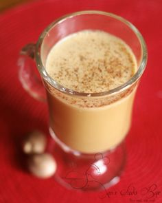 A recipe for milk free egg nog! I'm allergic and I miss my Hood golden egg nog so maybe this could replace it.