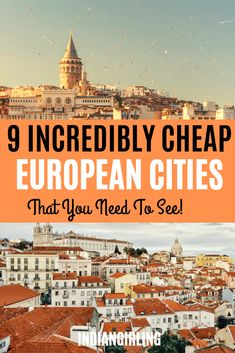 9 incredibly cheap European cities you need to see – Wanderlust Cheap European Destinations, Cheap European Cities, European Travel, Travel Destinations, Europe On A Budget, Europe Travel Tips, Budget Travel, Travel Guides, Places To Travel