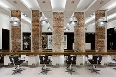 HAIRDRESSER! Aguavida hair & beauty by Pedra Silva Arquitectos, Brighton store design