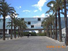 Vistas de la ciudad de Benidorm, cercana a Alicante.