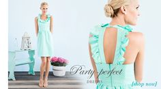I have said this since I saw this dress months ago... This is my ideal dress for my bridesmaids!!! Color and all.