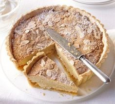 Apricot & Almond Bakewell: a winning combination of sweet pastry with a sharp compote Bakewell Tart, Bbc Good Food Recipes, Amazing Recipes, Custard Tart, Shortcrust Pastry, British Baking, Sweet Pastries, Almond Cakes, Sweet Tarts