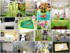 Tinker bell party for Reese