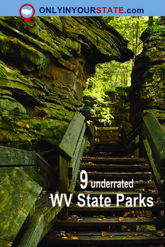 9 Under-Appreciated State Parks In West Virginia You're Sure To Love - - Get away from the expected places and discover hidden beauty in West Virginia. West Virginia Hiking, West Virginia Waterfalls, West Virginia Vacation, Virginia Fall, Cool Places To Visit, Places To Travel, Travel Destinations, Virginia Attractions, West Va