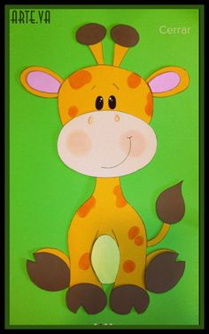 Crafts For Kids, Diy Crafts, Cute Animal Drawings, Hand Puppets, Wool Applique, New Tricks, 4 Kids, Safari, Quilts
