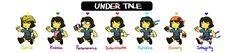 Undertale-seven Souls by seonyea