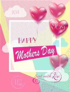 Happy Mothers' Day collection.Mothers Day card, sale and web banners flyers templates with lettering, hearts, balloons. Typography poster, label, brochure banner design collection. Retro, Love, Romance promotion — Stock Vector © sofiartmedia.gmail.com #153216188