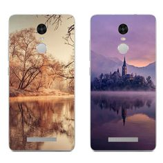 >> Click to Buy << For Xiaomi Redmi 3 Note 4 Pro Phone Case Mi 4 4i 4c 4s 5 Max Note 2 Shell Transparent Cover Silicon Water Reflection Pattern #Affiliate