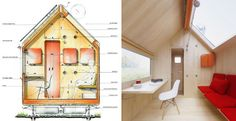 The tiniest house in the world! Diogene - Renzo Piano - Vitra Campus