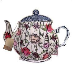 Teapot make-up bag