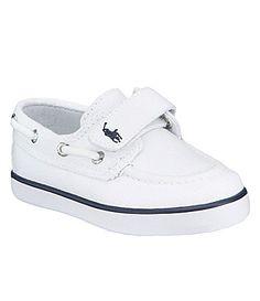 4a59758ef68 Polo Ralph Lauren Boys Sander Ez Boat Shoes