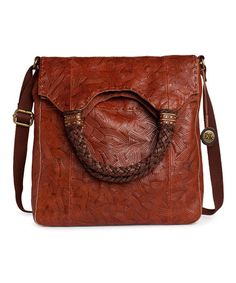Take a look at this Teak Batik Indio Fold-Over Bag by The Sak on #zulily today!