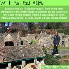 Bourton-on-the-Water - WTF fun facts