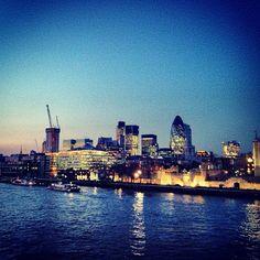 #uk #london #architecture #bridge  #water #light #landscape - @jadrahme1- #webstagram