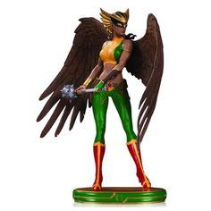 BLOG DOS BRINQUEDOS: DC Comics Cover Girls Hawkgirl Statue