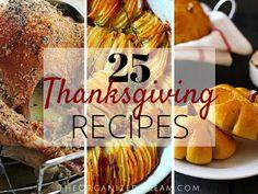 The Organized Dream: 25 Thanksgiving Recipes