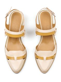 Kupuri 626 Quarter Strap Flat in Blush >>> Looks great with jeans but would be lovely with skirts and summer dresses too.